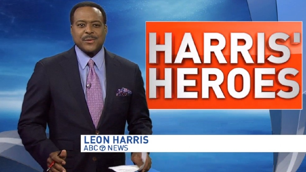 Hope for Henry Founders Honored as Harris' Heroes on WJLA-TV