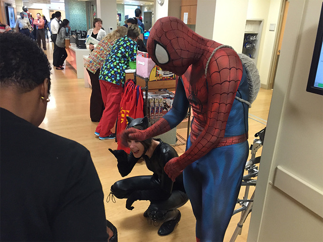 ABC2 – Superheroes Swoop into Samuelson Children's Hospital
